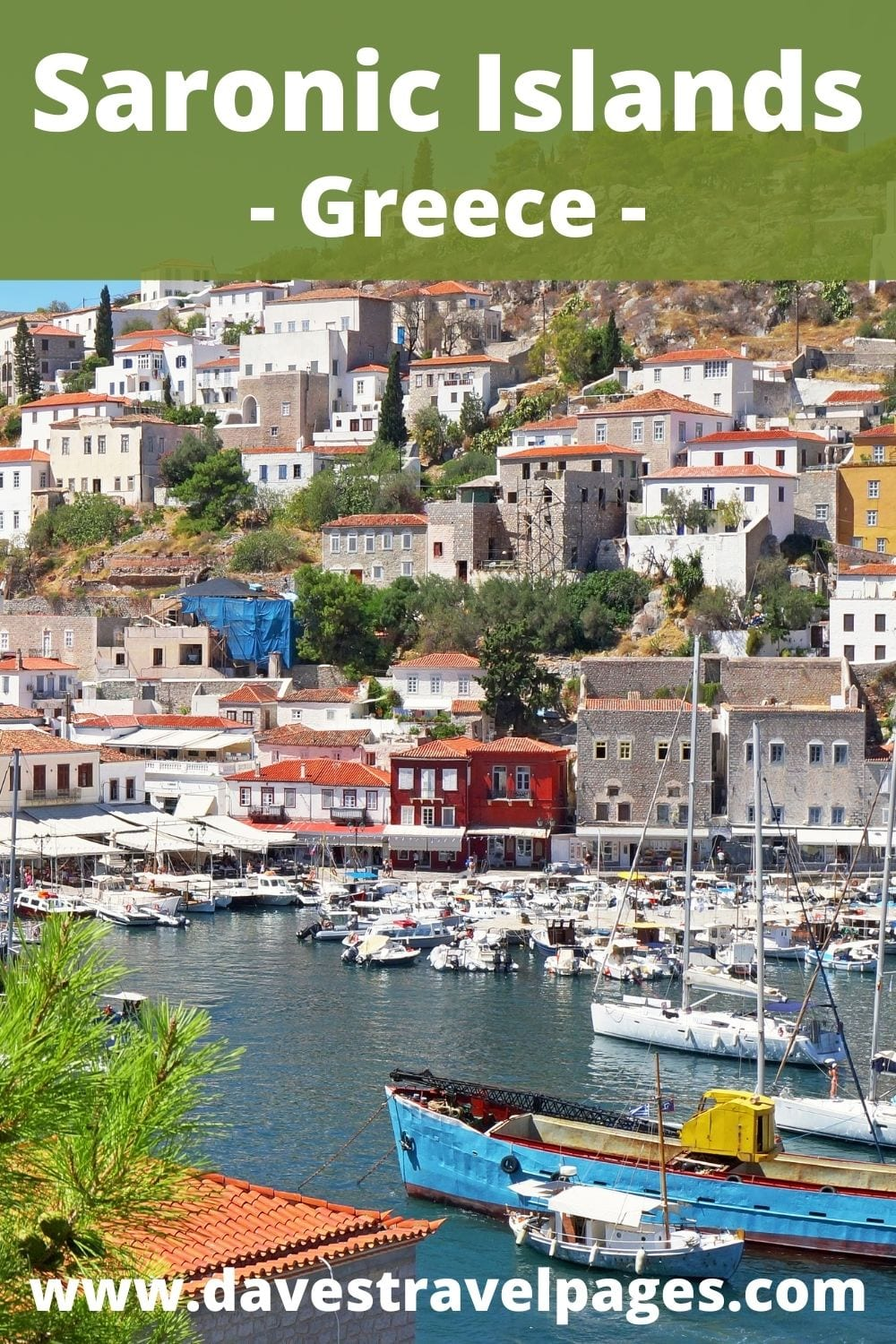 Saronic Islands of Greece Travel Guide