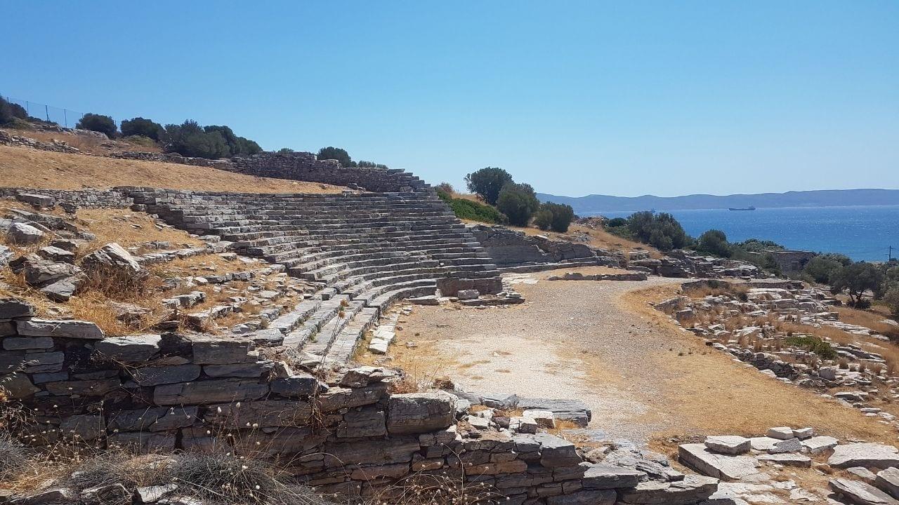 Thorikos Theatre outside of Lavrio