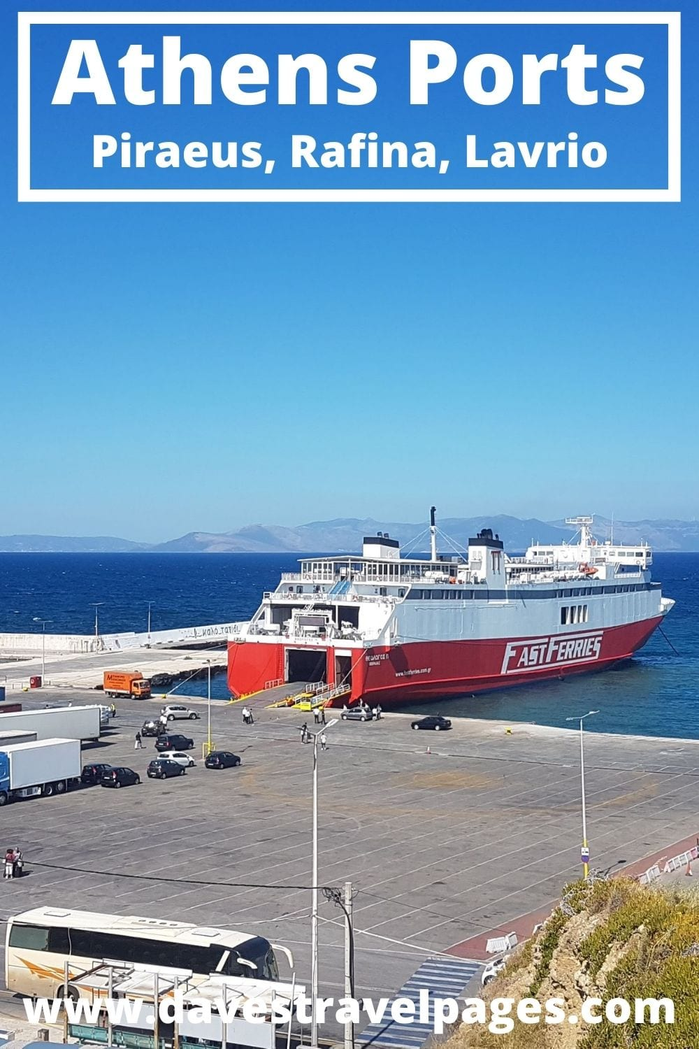 Ferry Ports in Athens Greece