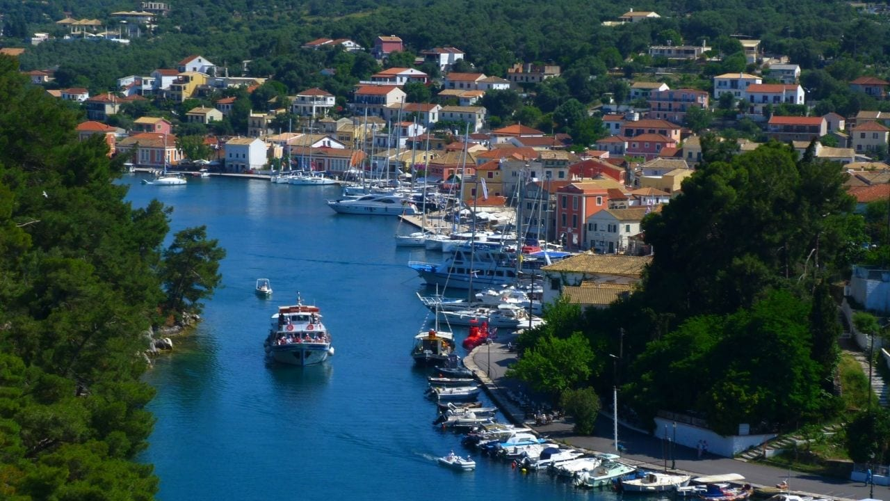 A photo of Paxos - One of the western Greek islands