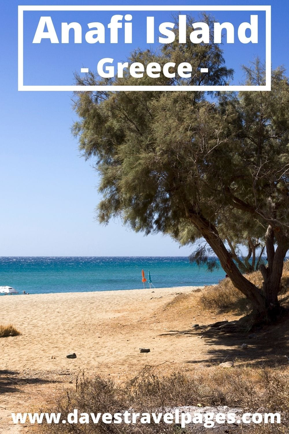 How to travel to Anafi from Milos island in Greece