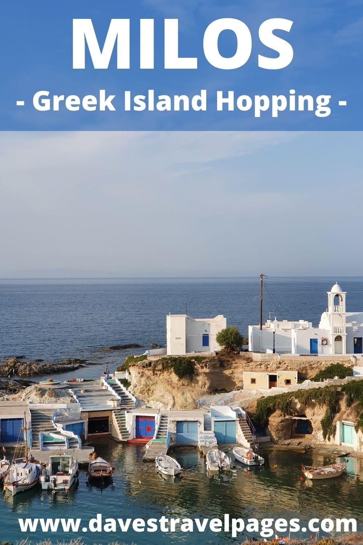 Milos Island Hopping Guide
