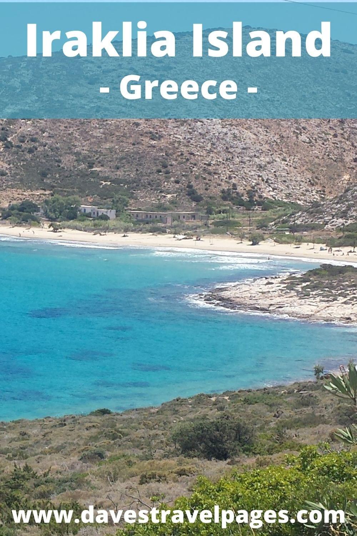 Taking the ferry from Milos to Iraklia