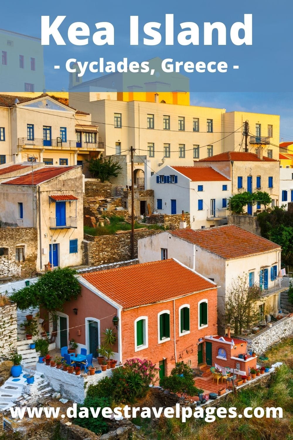 How to travel by ferry from Milos to Kea in Greece
