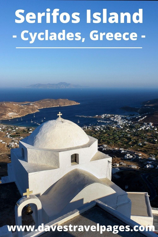 Milos to Serifos ferry guide