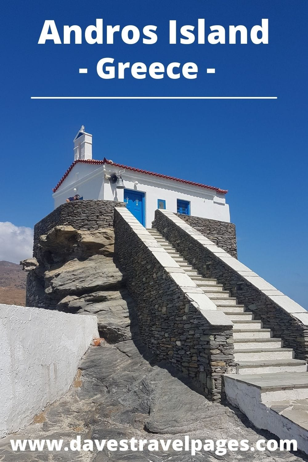 How to get to Andros island from Milos in Greece