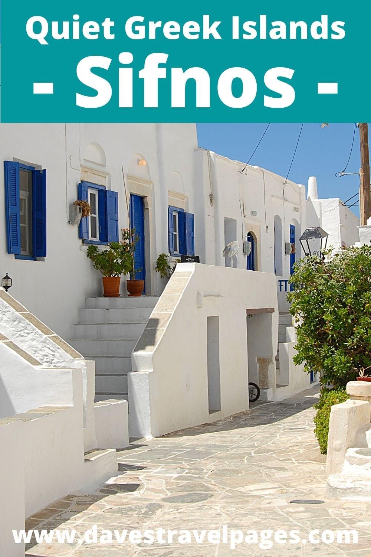 Visiting Sifnos after Mykonos