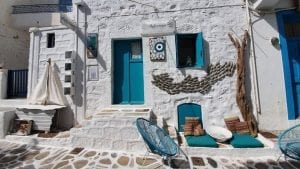 Visiting Kimolos island in the Cyclades of Greece