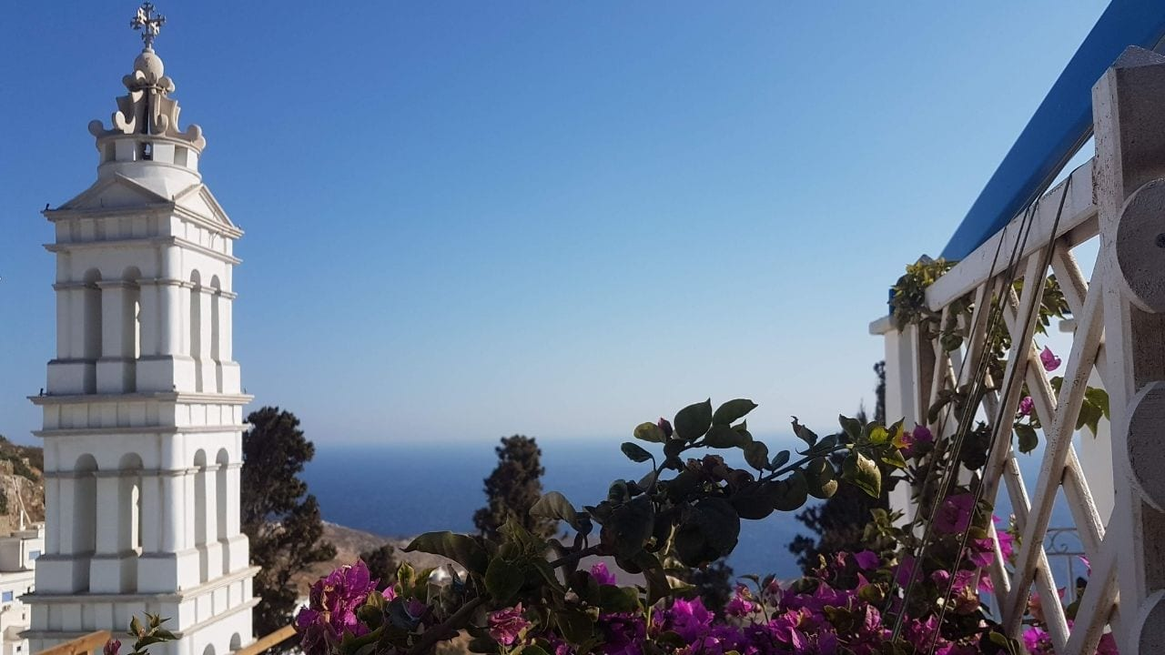 Visiting Tinos island in Greece