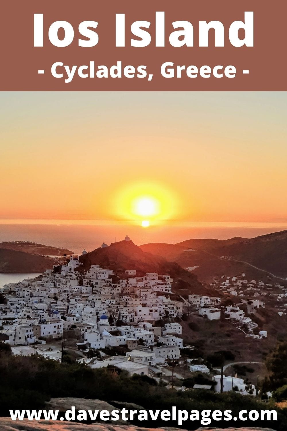Greek island hopping from Syros to Ios in Greece