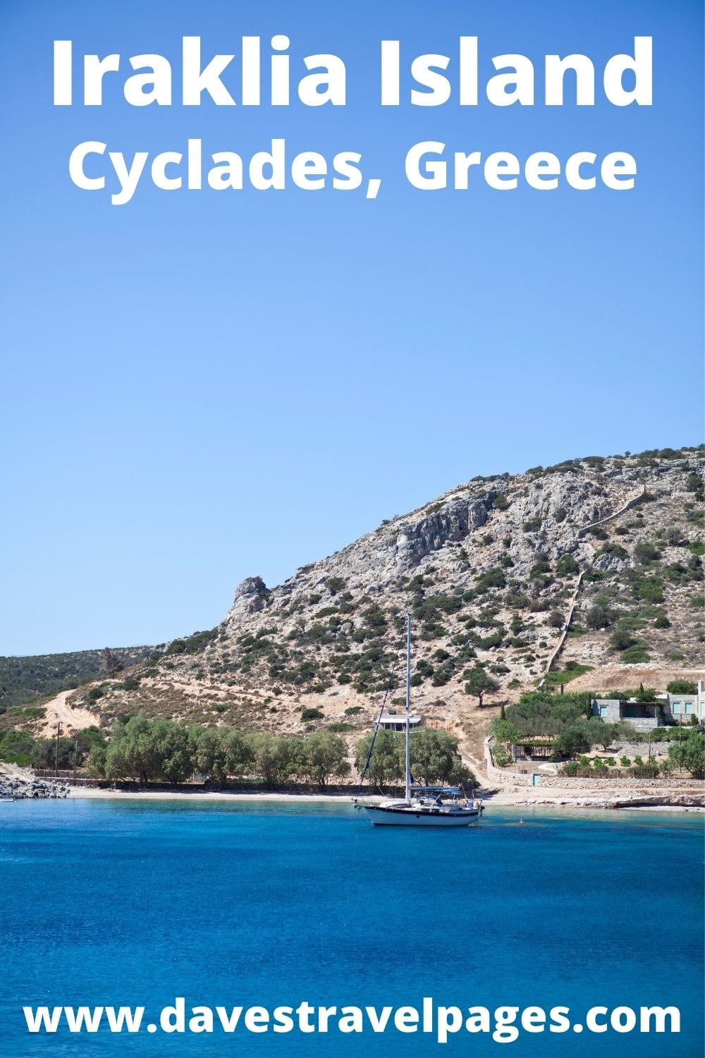 How to travel to Iraklia from Syros in Greece