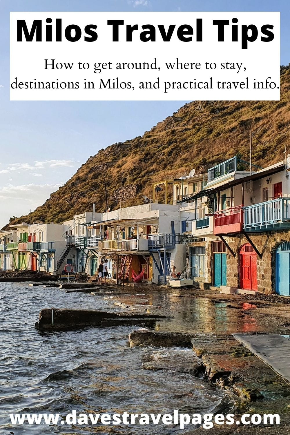 Milos travel tips and information