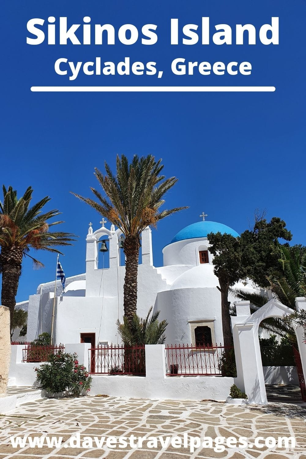 Traveling from Syros to Sikinos in Greece