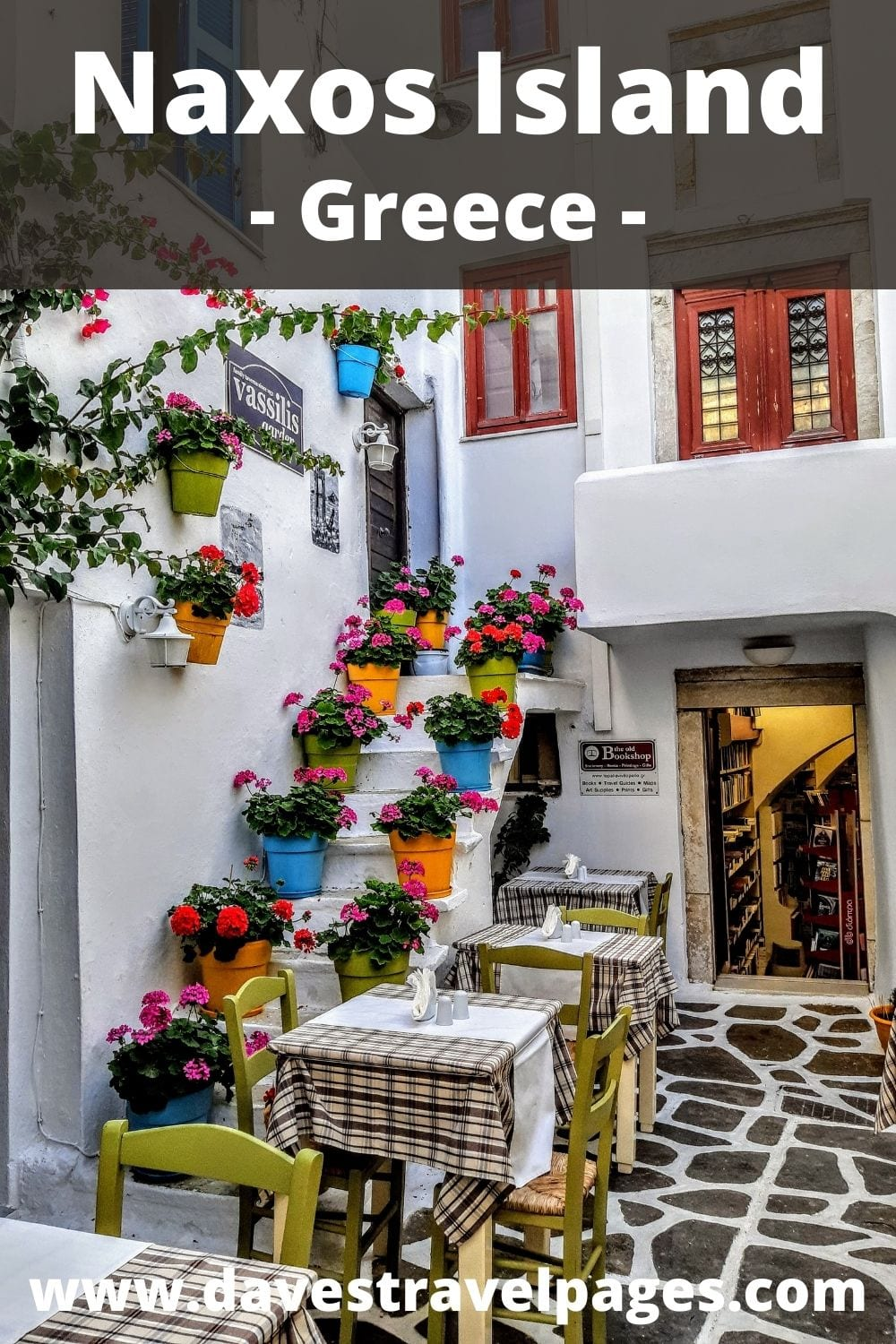 Greek island hopping from Syros to Naxos in Greece
