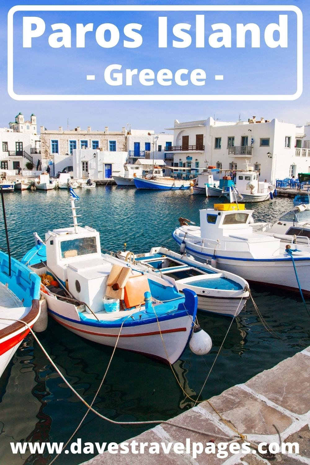 Ferries to Paros island in Greece from Syros