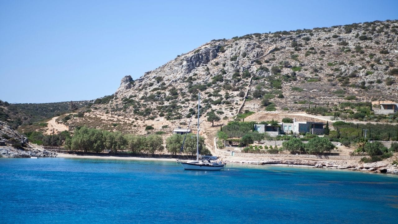 Visiting Iraklia island in Greece