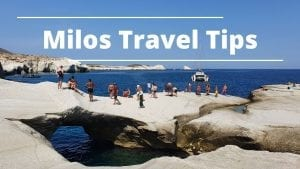 A collection of Milos travel tips to help plan your Greek island stay