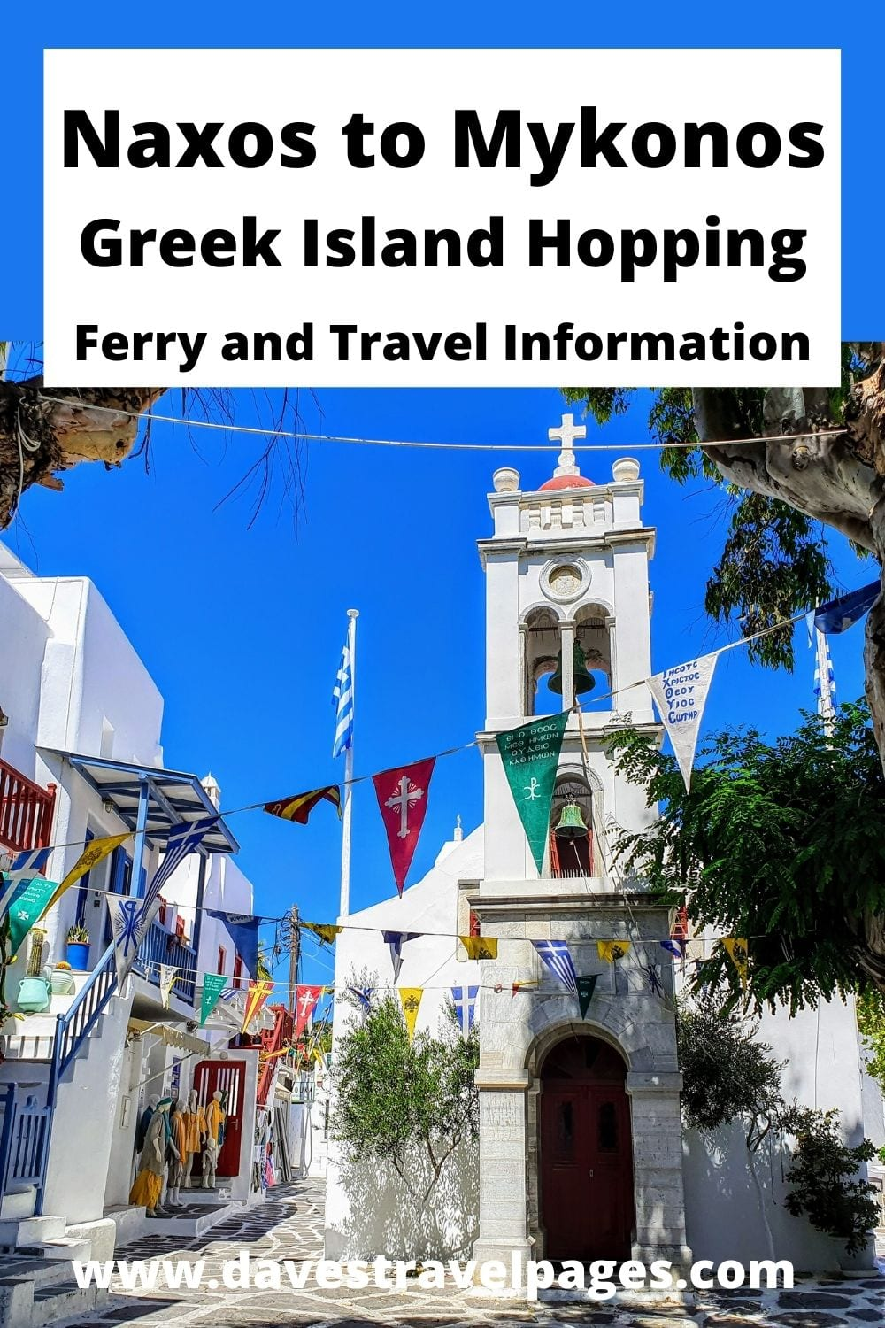 Naxos to Mykonos ferry and island hopping guide