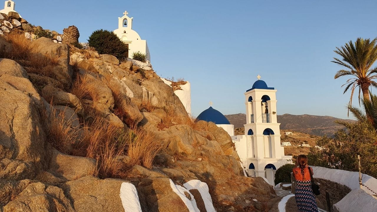 Travel to the Greek island of Ios from Syros