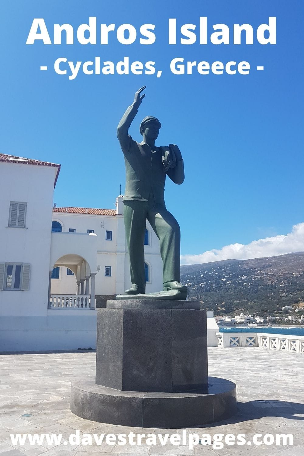 Visiting Andros island in the Cyclades of Greece