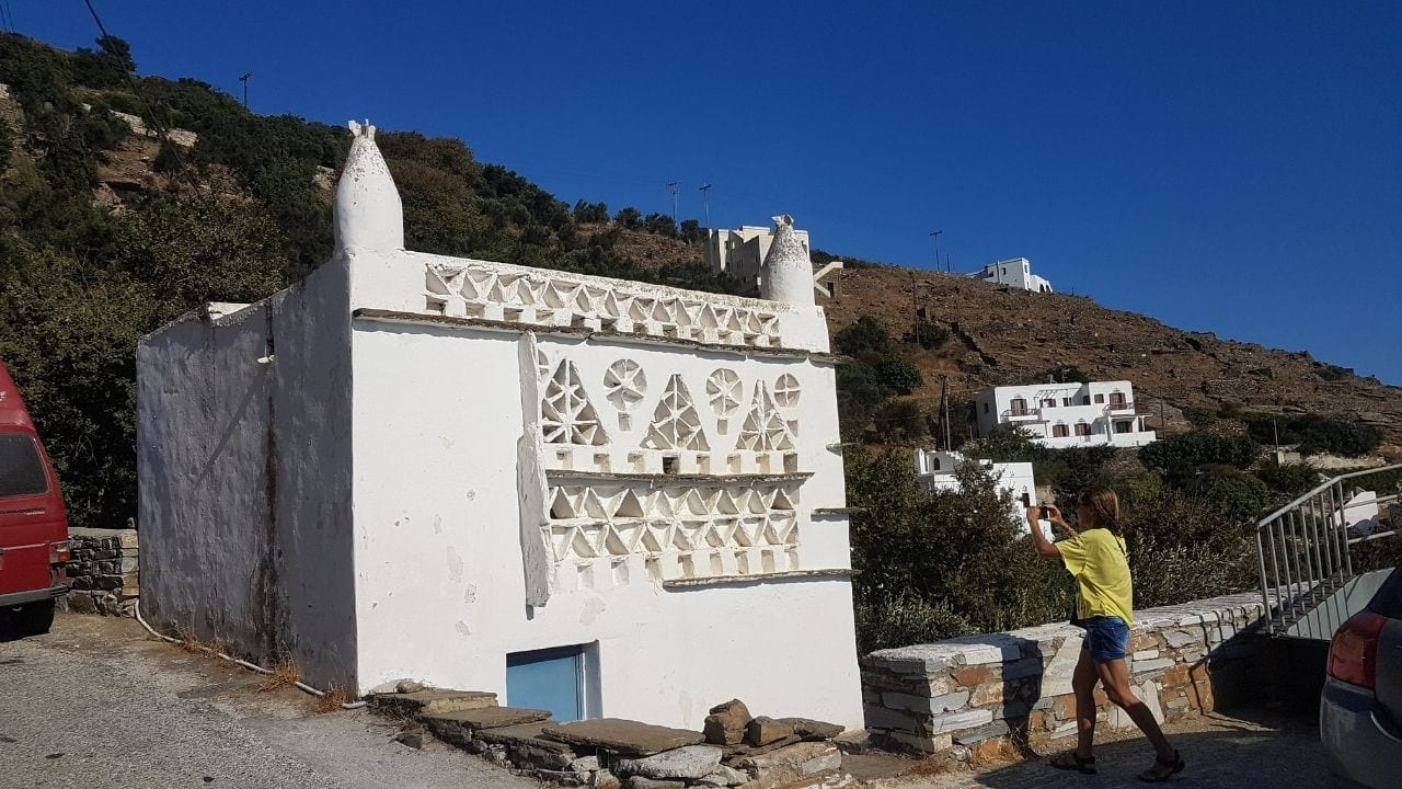 Visiting the Cyclades island of Tinos in Greece