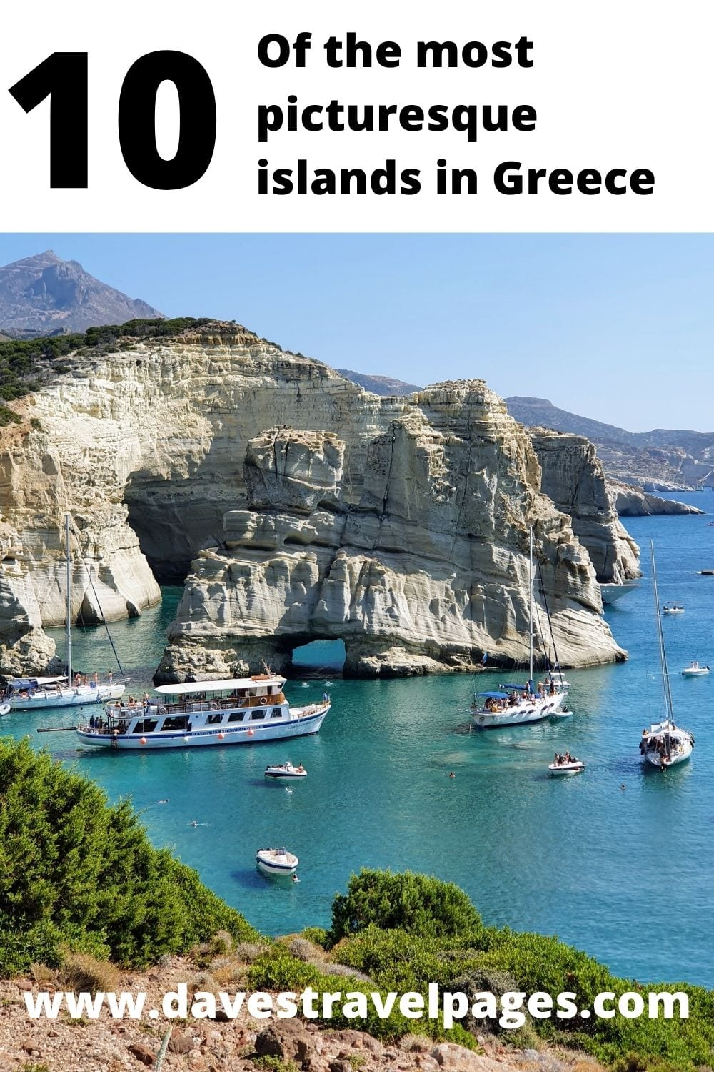 10 of the most Picturesque Islands in Greece
