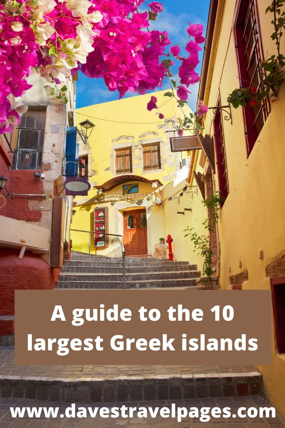A guide to the 10 biggest islands in Greece