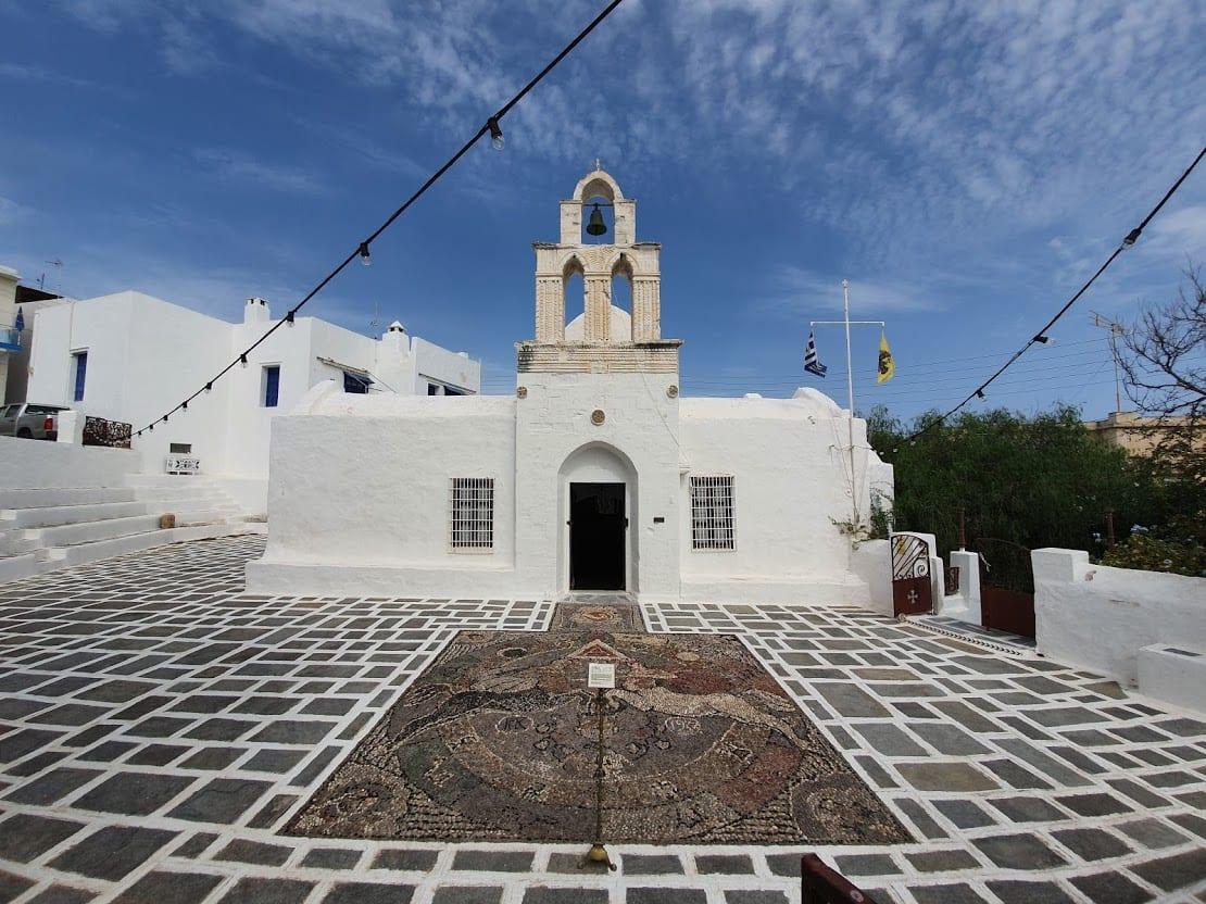 Agia Triada Church in Adamas Milos