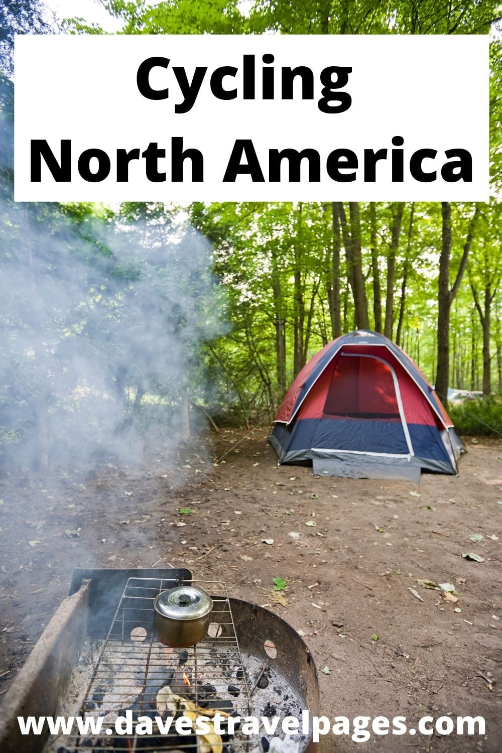 Cycle touring in North America