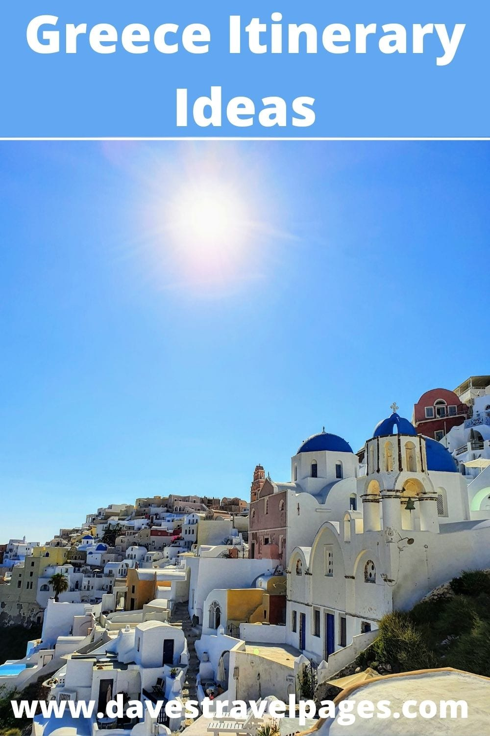 Greece Itinerary Ideas and Suggestions