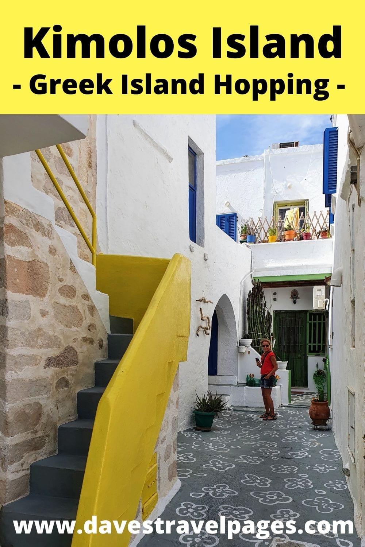Naxos to Kimolos Greek island hopping guide