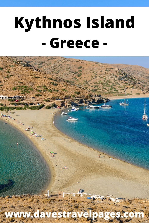 Greek island hopping from Naxos to Kythnos