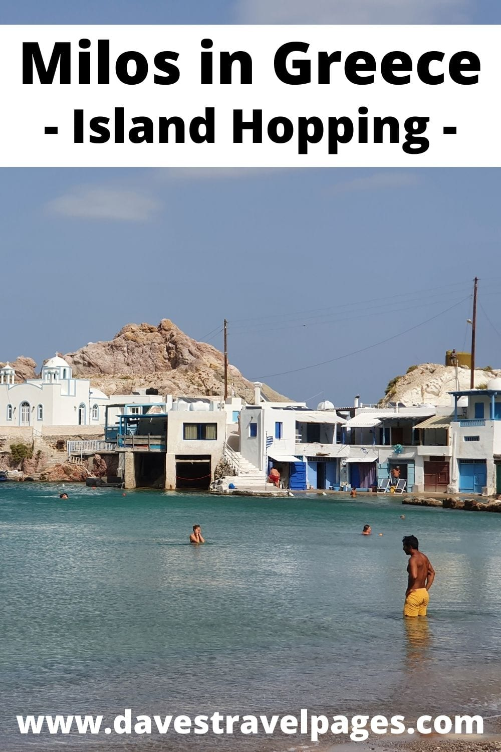 Island hopping from Naxos to Milos in Greece