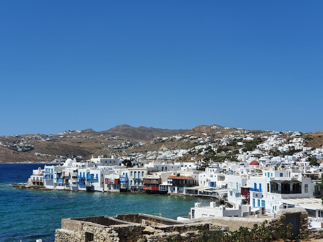 Taking a guided tour to see an authentic side to Mykonos island