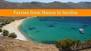 Greek island hopping from Naxos to Serifos