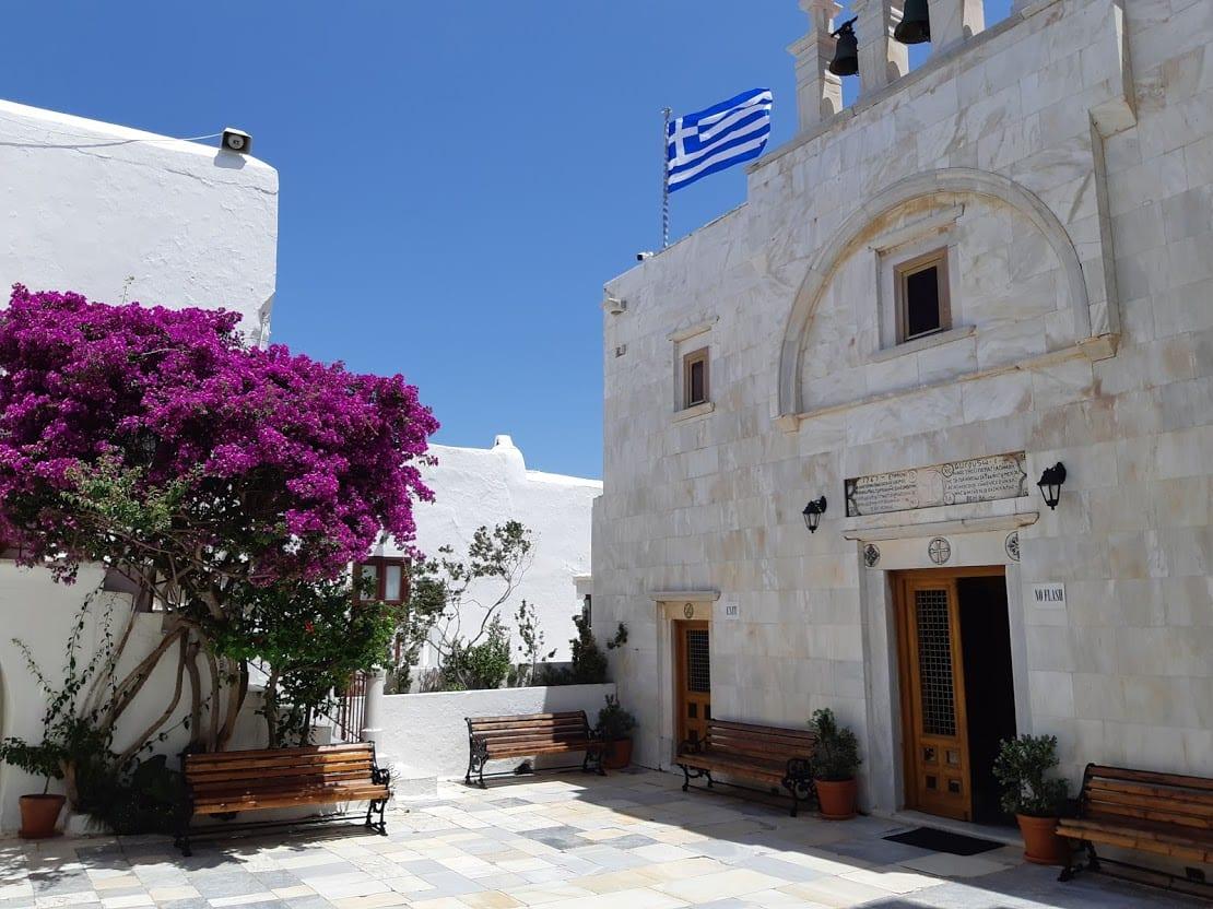 Visiting the Panagia Tourliani in Mykonos