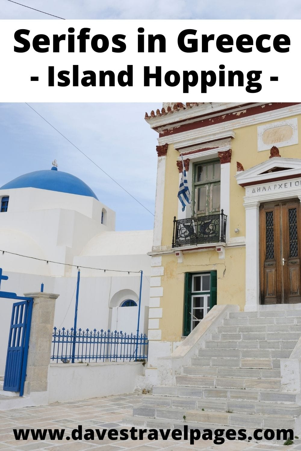 Greek island hopping from Naxos to Serifos in Greece