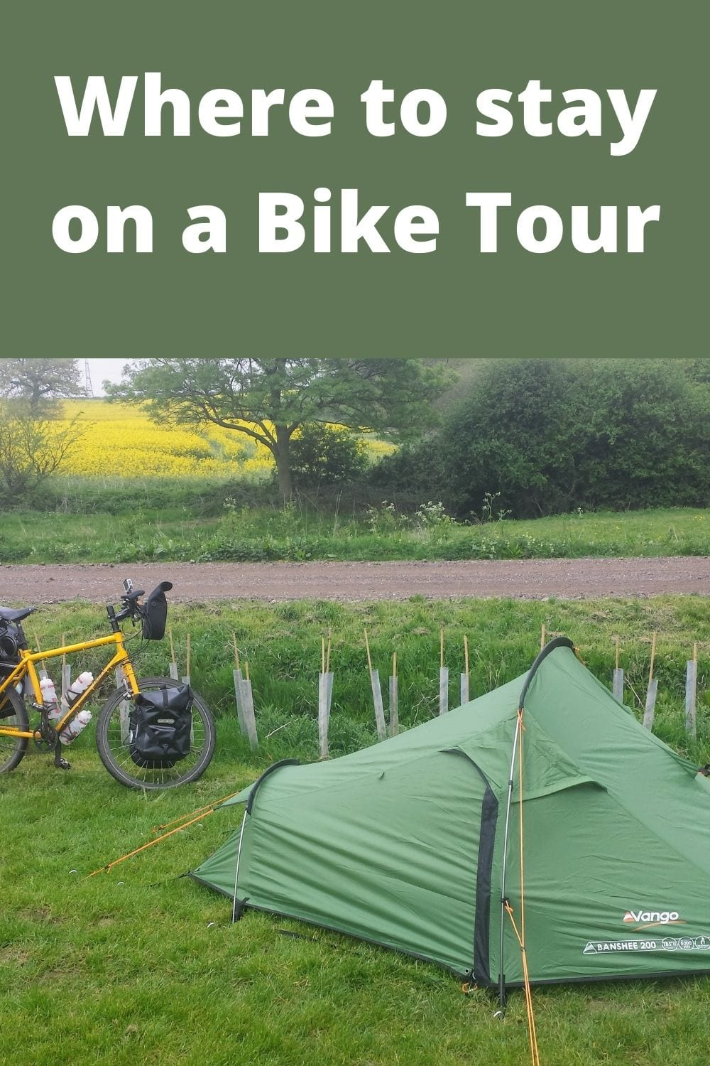 Where to stay when you go bicycle touring