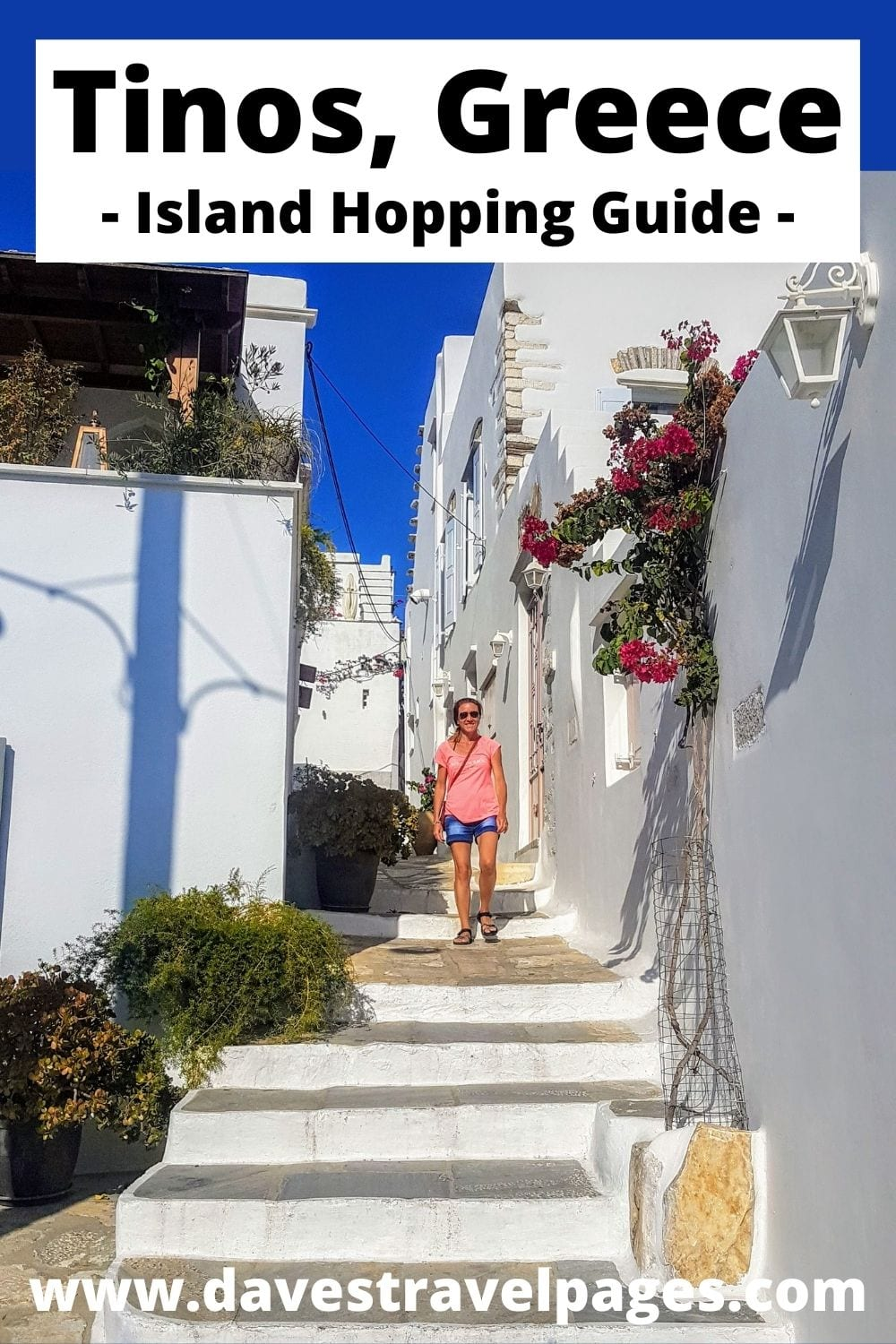 How to get from Naxos to Tinos in Greece