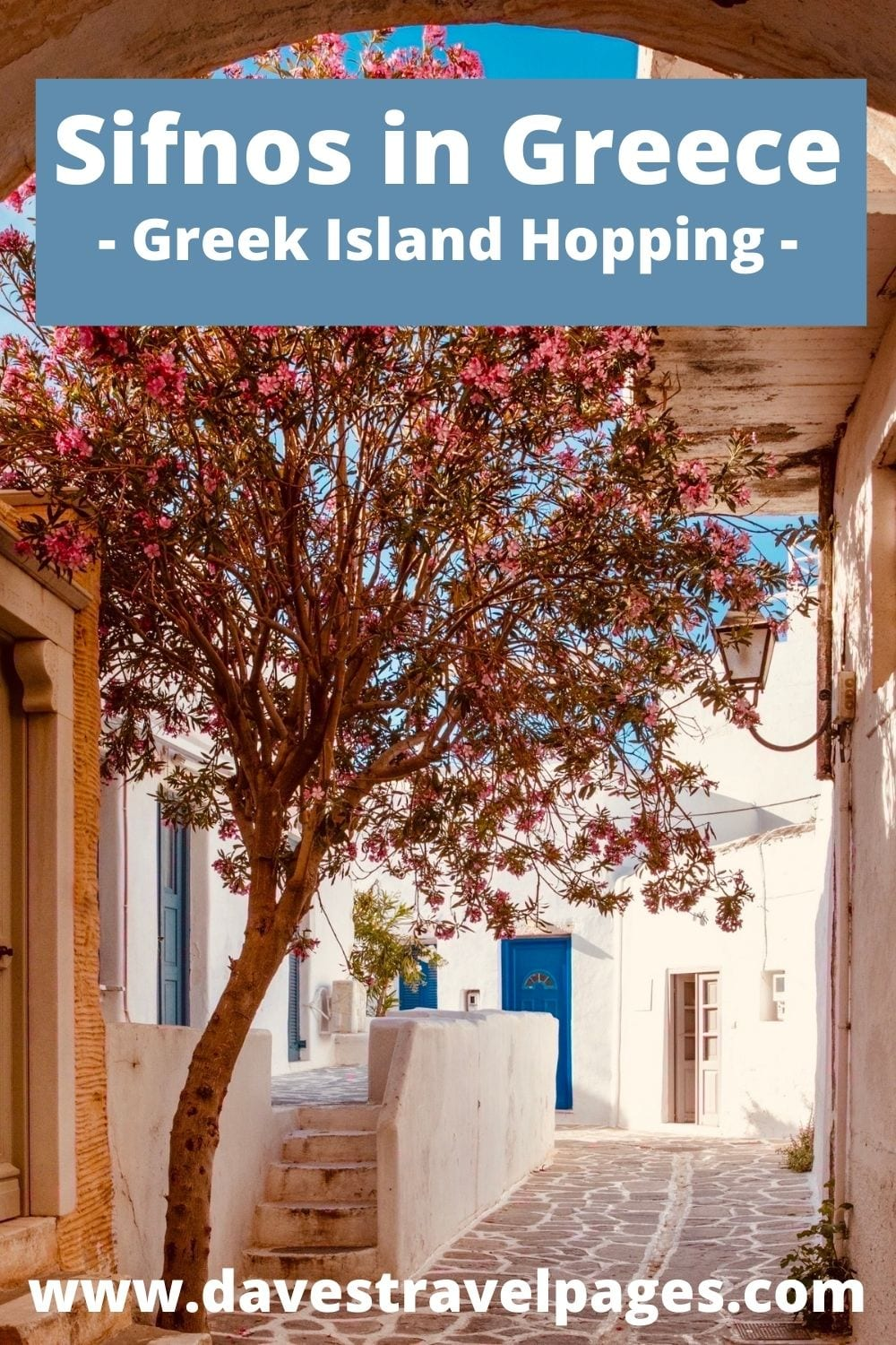 Greek island hopping from Naxos to Sifnos in Greece
