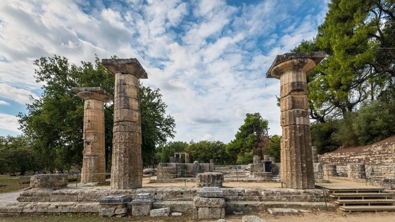 Temple of Hera in Olympia
