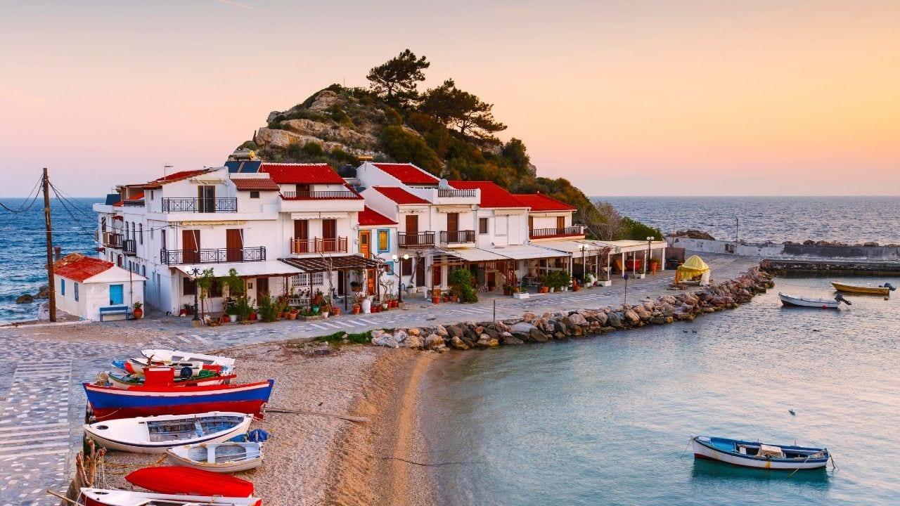 The Greek island of Samos