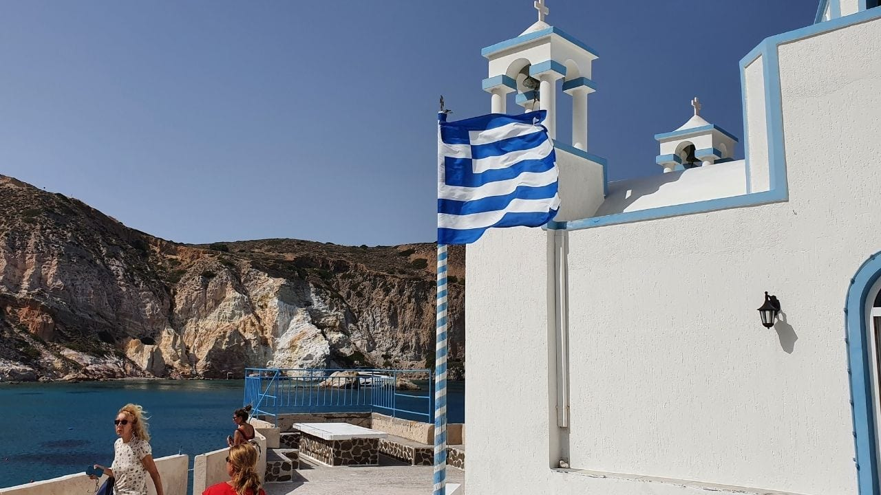 How to visit Milos after Naxos in Greece