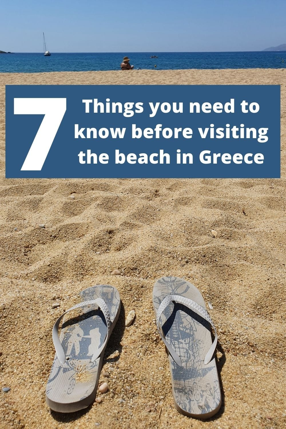 Things you need to know before visiting the beach in greece