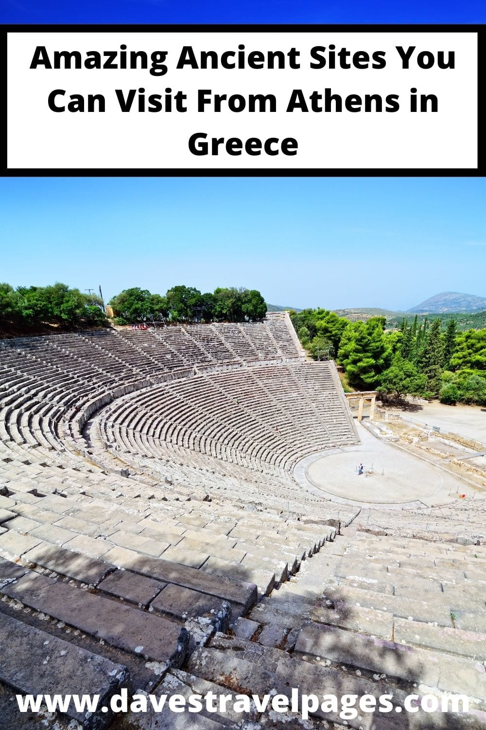 Ancient sites you can visit on a one day trip from Athens