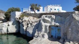 Goupa Fishing Village in Kimolos Greece
