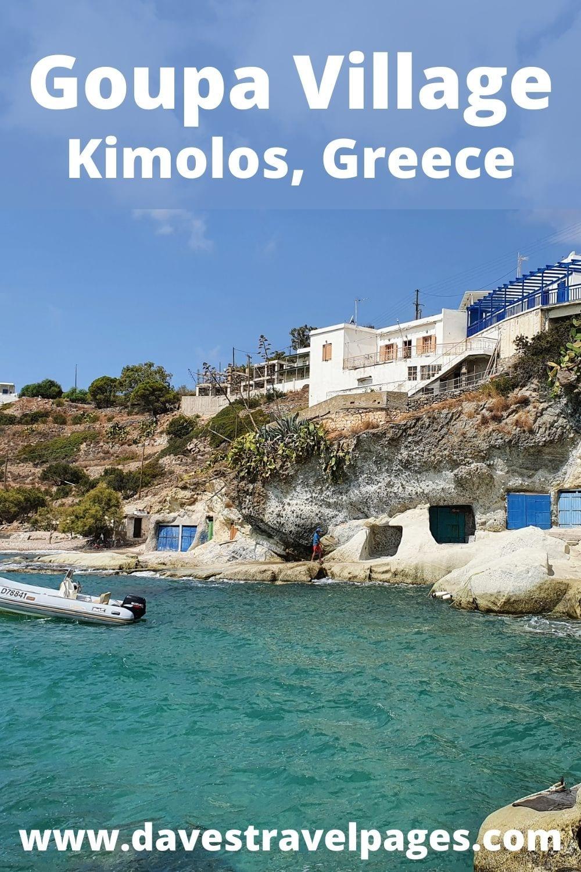 Goupa Village, Kimolos, Cyclades, Greece