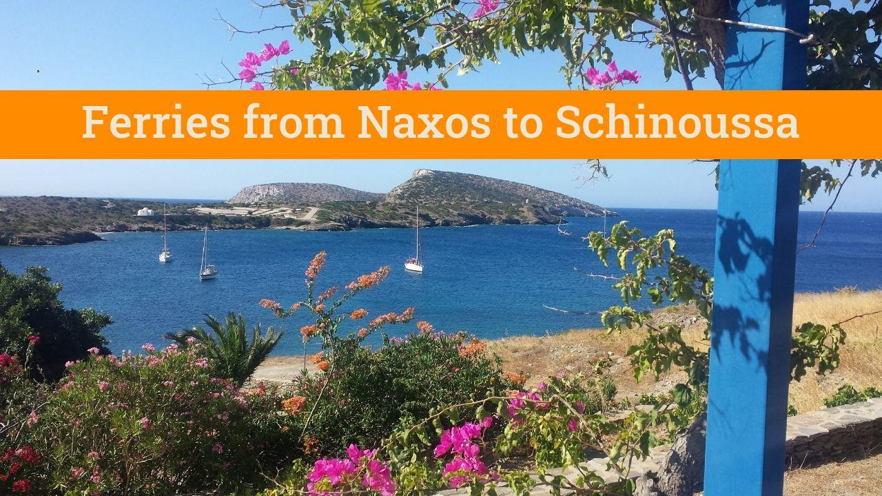 Naxos to Schinoussa by ferry