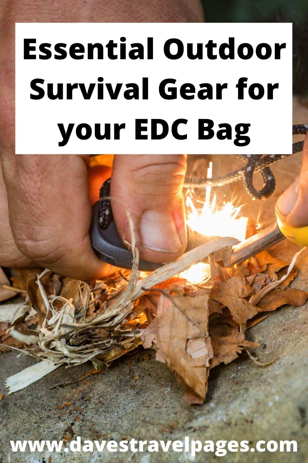 Essential survival gear for your EDC bag