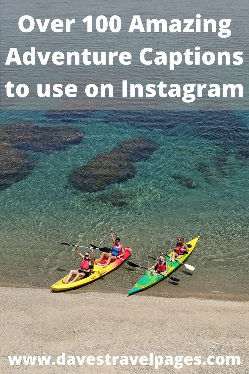 100 Adventure Captions and Quotes to use on Instagram